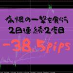 【FXトレード】ファンダメンタルに振り回された一日-38.5pips【2019年8月2日】