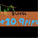 【FXトレード】負けなしの4連勝スタート+10.9pips【2019年8月19日】